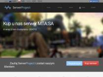 SAMP сервер SA-MP 0.3.7 R3 @ ServerProject.eu