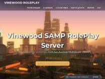 SAMP сервер Vinewood SA:MP Roleplay Server (0.3.7)